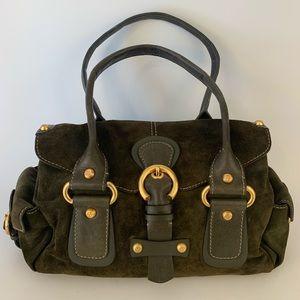 Francesco Biasia Green Handbag